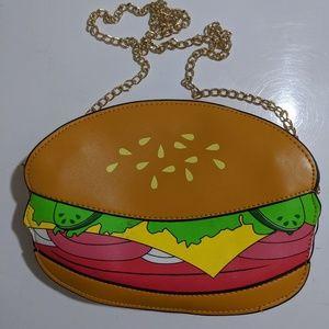 Cute Hamburger Purse